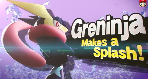 Charizard and Greninja in Smash Bros