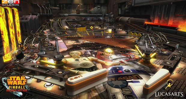 Star Wars Pinball 'Heroes Within' Droids table