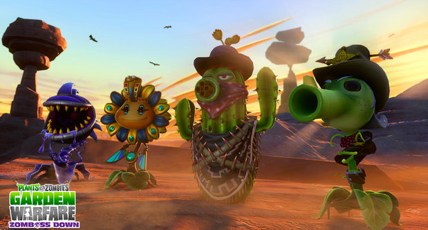 Plants vs Zombies: Garden Warfare Zomboss Down screenshots