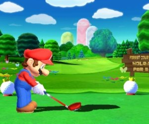 Mario Golf: World Tour Chat