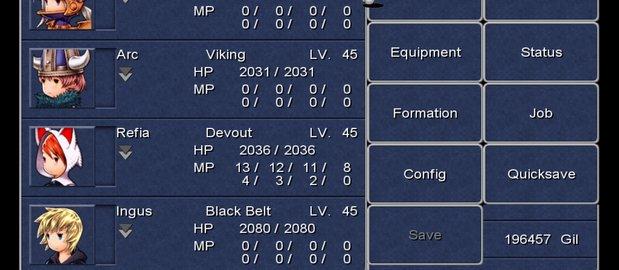 Final Fantasy III News