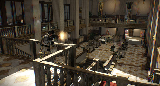 Payday 2 Big Bank DLC screenshots