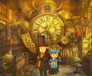 Professor Layton and the Unwound Future Chat