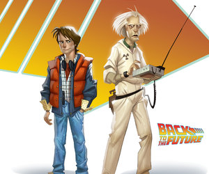 Back to the Future: The Game Chat