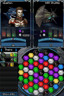 Puzzle Quest: Galactrix Screenshots