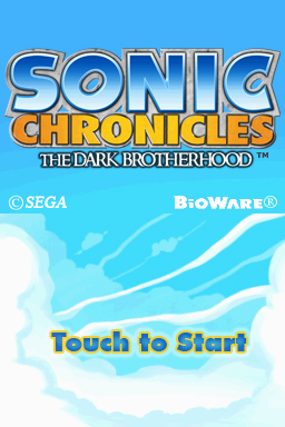 Sonic Chronicles: The Dark Brotherhood Files