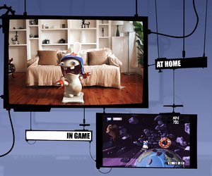 Rayman Raving Rabbids TV Party Screenshots