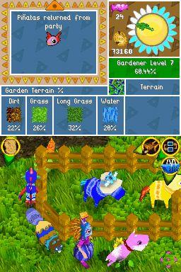 Viva Pinata: Pocket Paradise Screenshots