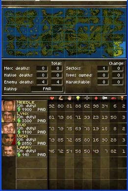 Jagged Alliance DS Chat