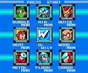 Mega Man 2 Screenshots