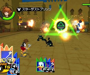 Kingdom Hearts Re:Chain of Memories Screenshots