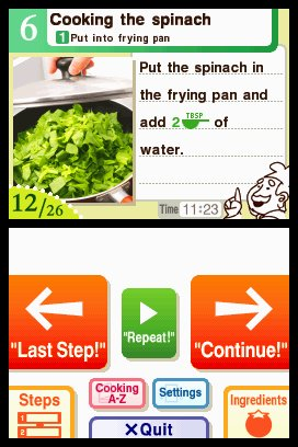 Personal Trainer: Cooking Screenshots
