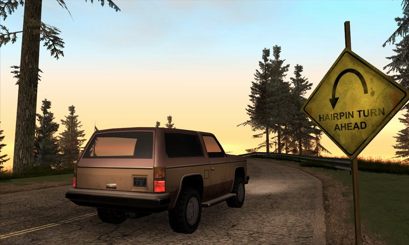 Скриншоты из GTASA. Скрин N-1.