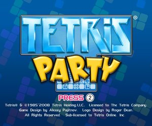 Tetris Party Chat