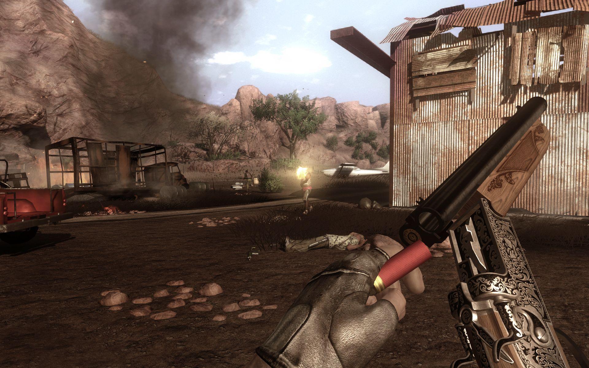 Скриншот из игры Far Cry 2 под номером 75.
