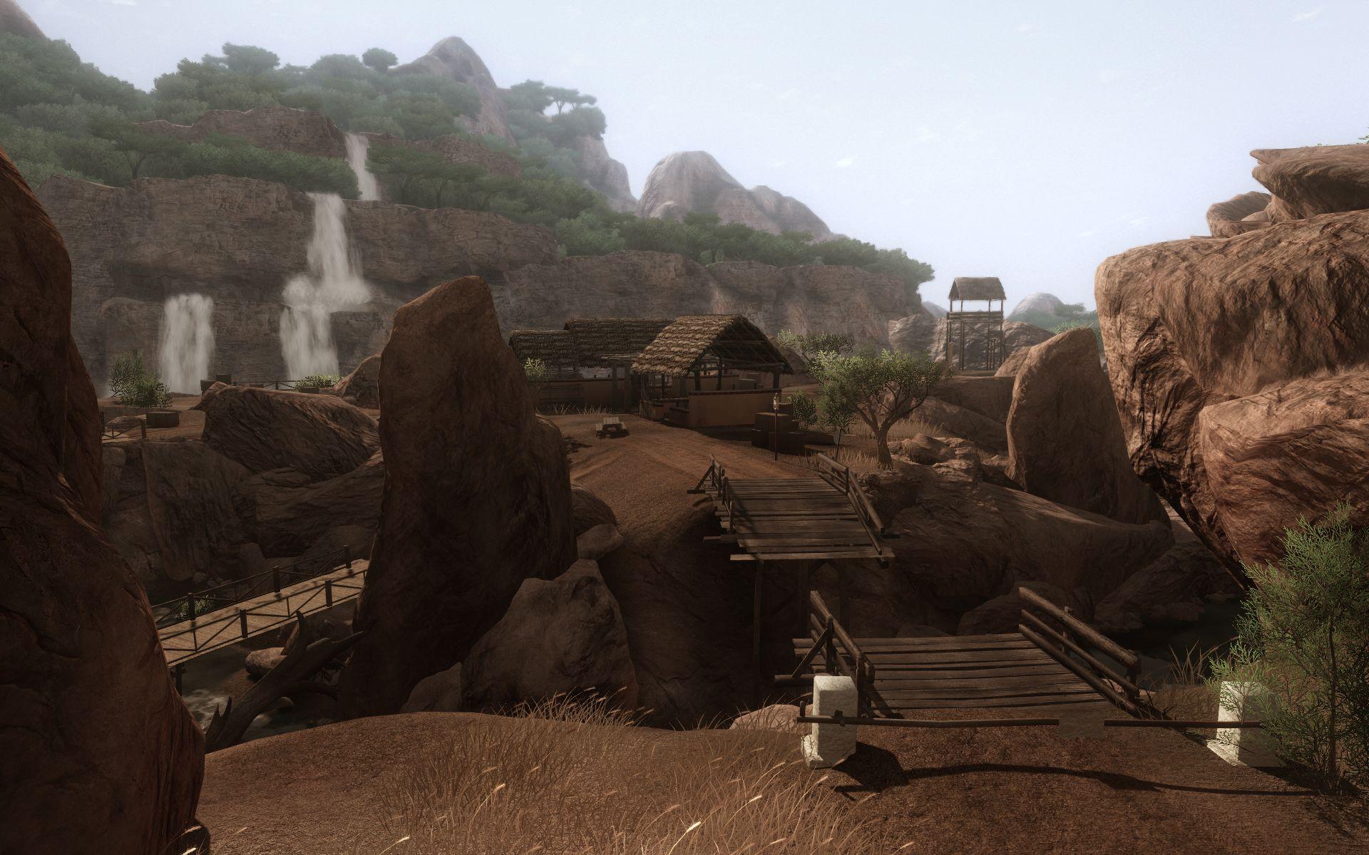 Кадр из игры Far Cry 2.