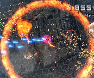 Super Stardust Portable Screenshots