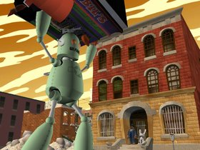 Sam & Max 2: Beyond Time & Space Screenshot from Shacknews