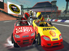 NASCAR Kart Racing Screenshot from Shacknews