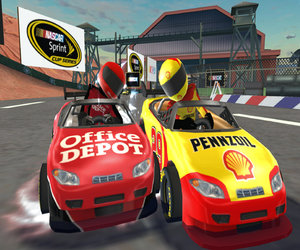 NASCAR Kart Racing Screenshots