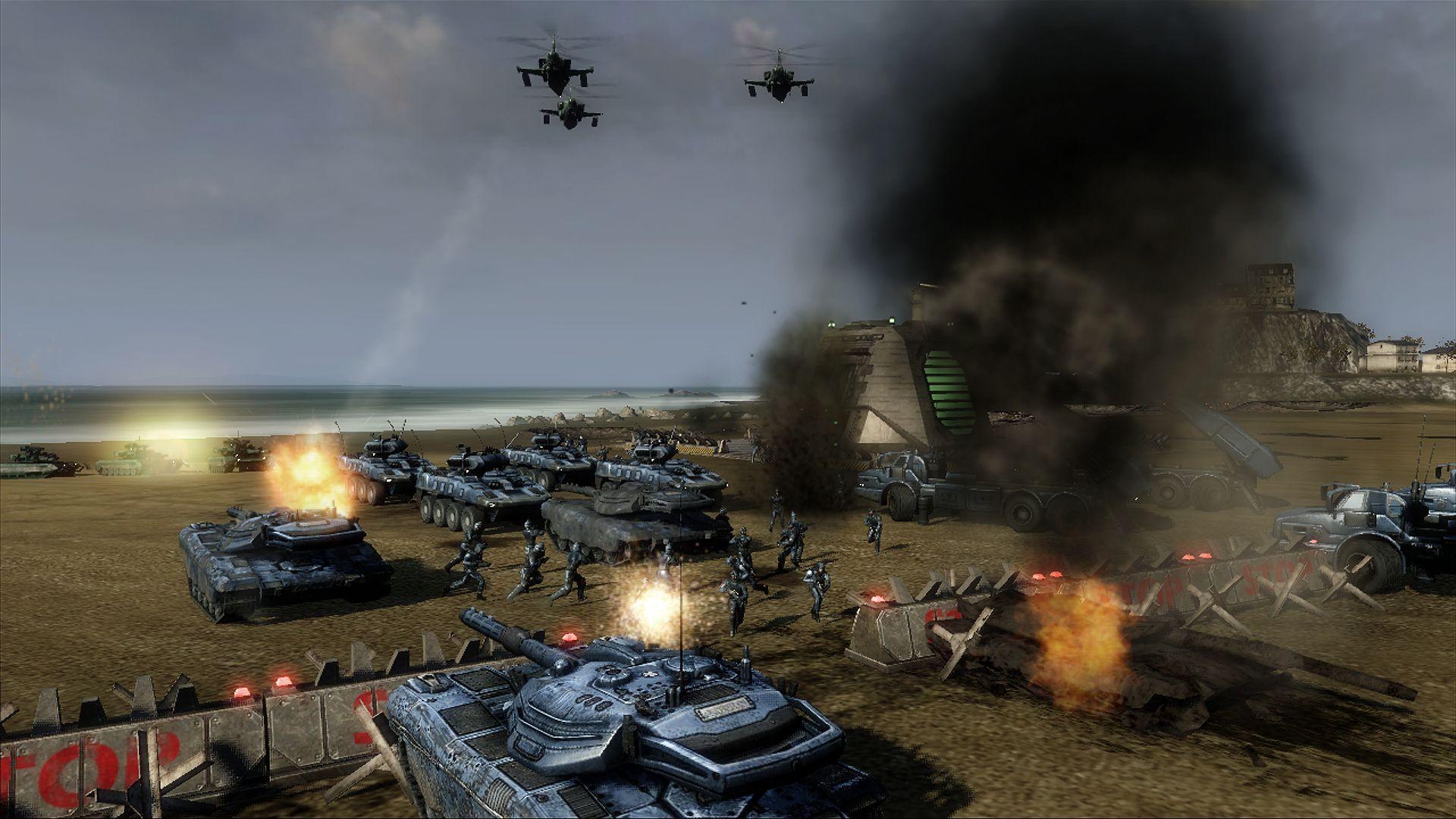 والأكشن الأكثر من رائعة ل- UBISOFT إنها Tom Clancy's Endwar-XBOX 360-R…
