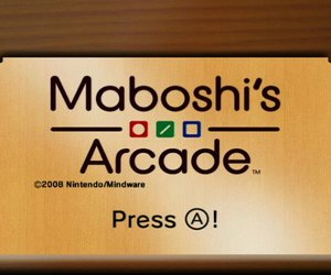 Maboshi's Arcade Screenshots