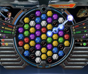 Puzzle Quest: Galactrix Screenshots