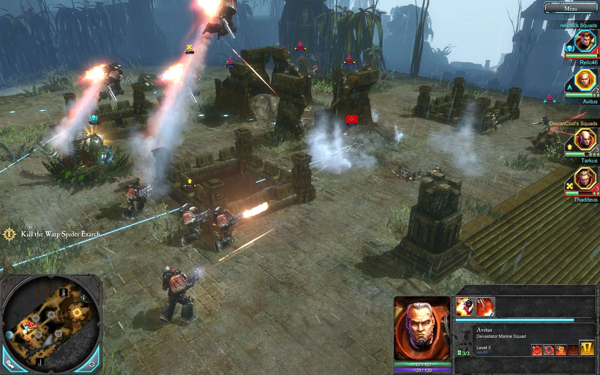 Скриншоты Warhammer 40000 Dawn of War 2 - война продолжается.