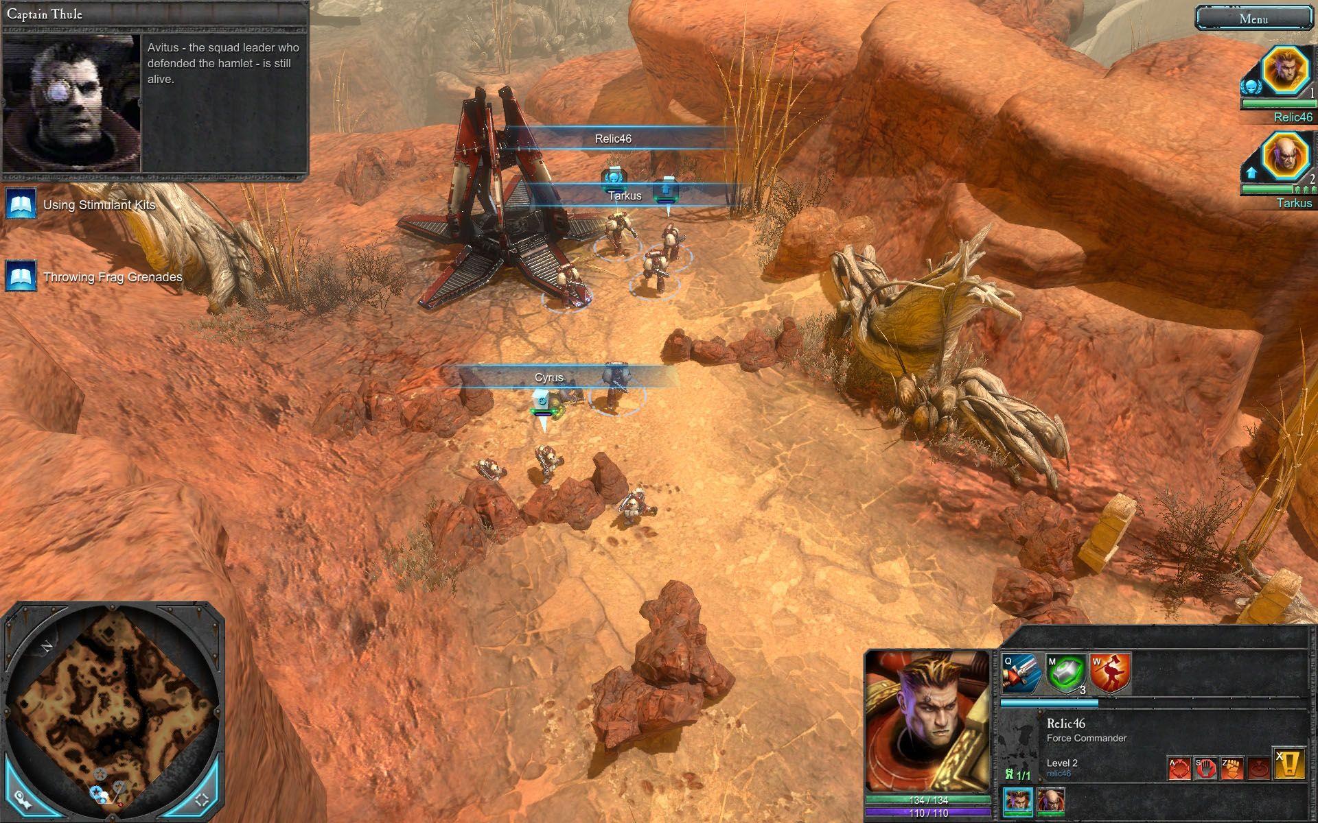 Скриншот игры Warhammer 40 000 Dawn of War 2.