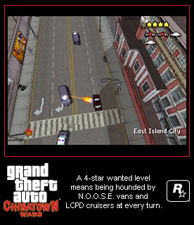 Grand Theft Auto: Chinatown Wars Screenshots