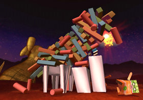 Boom Blox: Bash Party Screenshot from Shacknews