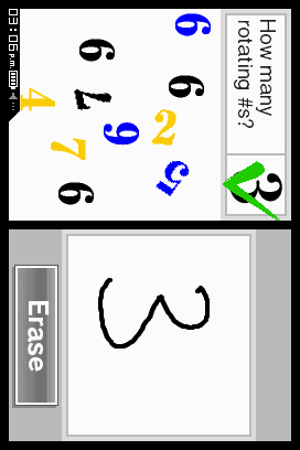 Brain Age Express: Math Screenshots