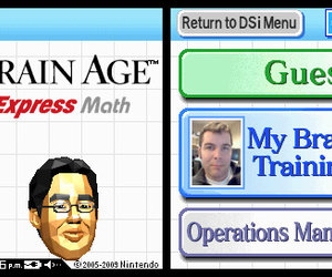 Brain Age Express: Math Videos