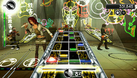 Rock Band Unplugged Screenshot from Shacknews