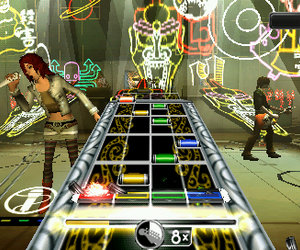 Rock Band Unplugged Screenshots