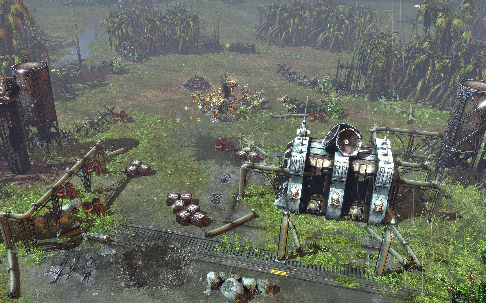 Warhammer 40000 Dawn of War 2 - Retribution. Эльдары.