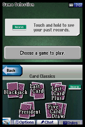 Clubhouse Games Express: Card Classics Screenshots
