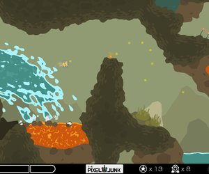 PixelJunk Shooter Screenshots