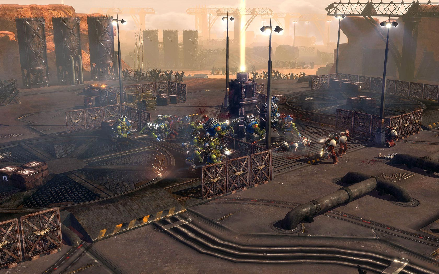 Warhammer 40,000 Dawn of War II - There Is Only War.