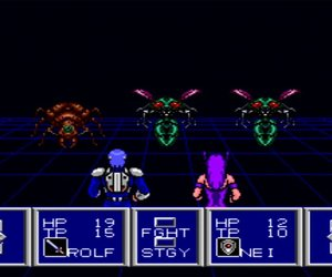 Phantasy Star II Screenshots
