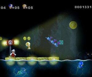 New Super Mario Bros. Wii Screenshots