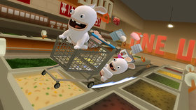 Rabbids Go Home Screenshot from Shacknews