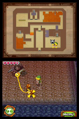 The Legend of Zelda: Spirit Tracks Screenshots