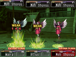 Shin Megami Tensei: Devil Survivor Chat