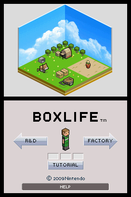 Art Style: BOXLIFE Screenshots
