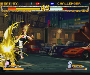 Fatal Fury: Garou - Mark of the Wolves Files