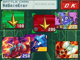 Mega Man Star Force 3 Red Joker Chat
