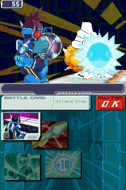 Mega Man Star Force 3 Black Ace Screenshots