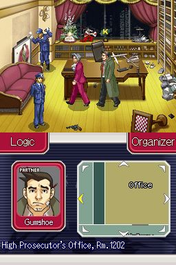 Ace Attorney Investigations: Miles Edgeworth Screenshots