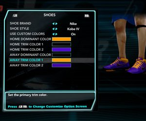 NBA 2K10: Draft Combine Screenshots